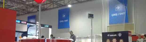 Bakcell и Qualcomm на выставке BakuTel-2012