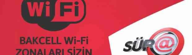 Bakcell сделал свой Wi-Fi бесплатным до конца года