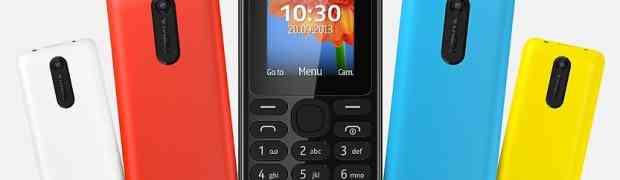 Новый бюджетный Nokia 108