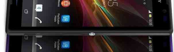 Бюджетный фаблет Sony Xperia C