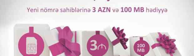 Nar Mobile дает новым абонентам попробовать интернет и 3 AZN на услуги
