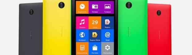 Nokia представила первые Android смартфоны