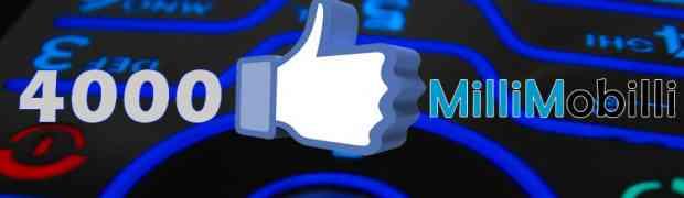 4000 лайков на нашей страничке Facebook