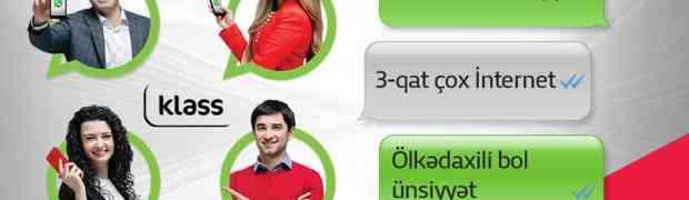 Bakcell обновляет Klass и дает бесплатный Whatsapp